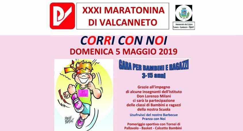 maratonina 2019 valcanneto